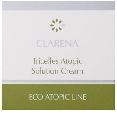 Clarena Eco Atopic Line Tricelles krem regenerujący i nawilżający z trzech typów komórek macierzystych do cery wrażliwej i skłonnej do podrażnień 2