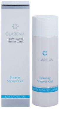 Clarena Body Advanced Line Boracay sprchový gél pre výživu a hydratáciu 1