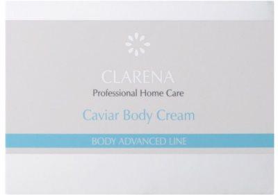 Clarena Body Advanced Line Caviar vyživující tělový krém s regeneračním účinkem 2