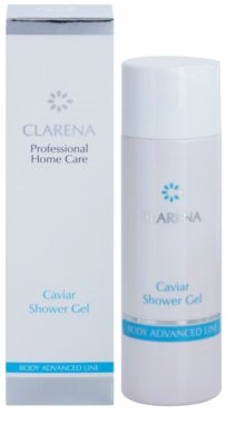 Clarena Body Advanced Line Caviar gel de dus efect regenerator 1