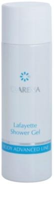 Clarena Body Advanced Line Lafayette tusfürdő nyugtató hatással az atópiás bőrre