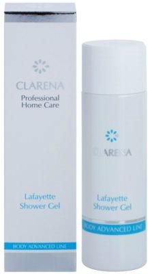 Clarena Body Advanced Line Lafayette tusfürdő nyugtató hatással az atópiás bőrre 1