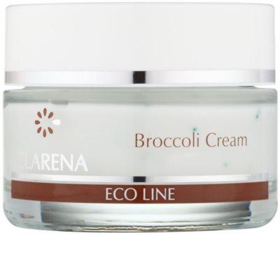 Clarena Eco Line Broccoli pflegende Creme für der Sonnenstrahlung ausgesetzte Haut
