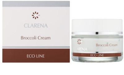 Clarena Eco Line Broccoli pflegende Creme für der Sonnenstrahlung ausgesetzte Haut 1