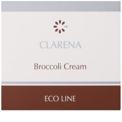 Clarena Eco Line Broccoli pečující krém pro pleť vystavenou nežádoucím účinkům UV záření 2