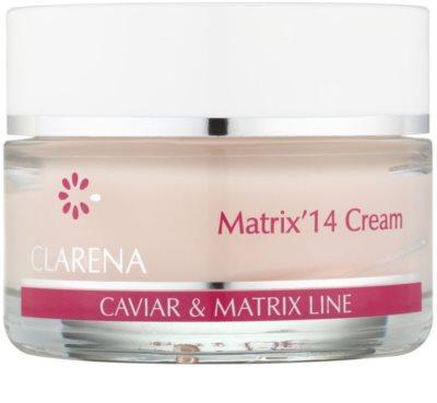 Clarena Caviar & Matrix Line krem przeciwzmarszczowy aktywujący młodzieńczy gen