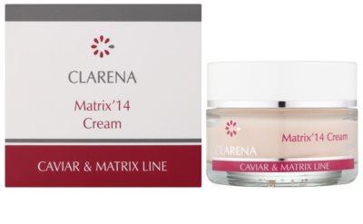 Clarena Caviar & Matrix Line krem przeciwzmarszczowy aktywujący młodzieńczy gen 1