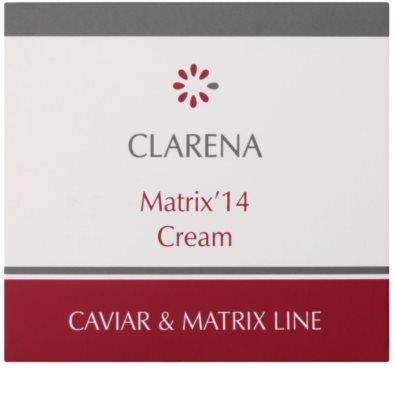 Clarena Caviar & Matrix Line krem przeciwzmarszczowy aktywujący młodzieńczy gen 2