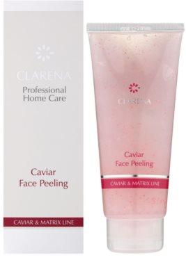 Clarena Caviar & Matrix Line peeling rewitalizujący 1