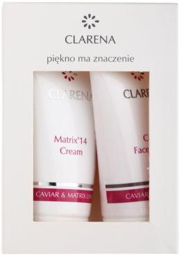 Clarena Caviar & Matrix Line Kosmetik-Set  III.
