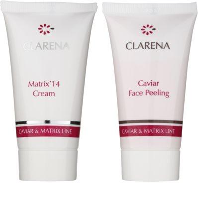 Clarena Caviar & Matrix Line Kosmetik-Set  III. 1
