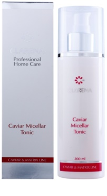 Clarena Caviar & Matrix Line kojący tonik micelarny 2