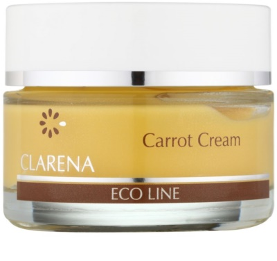 Clarena Eco Line Carrot regeneracijska krema za obraz z betakarotenom