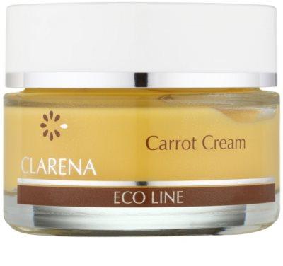 Clarena Eco Line Carrot regenerujący krem do twarzy z betakarotenem