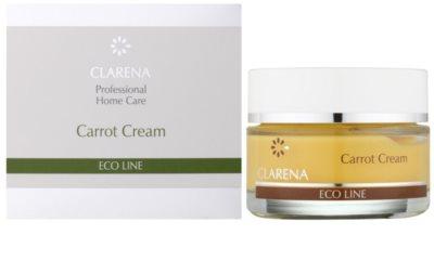 Clarena Eco Line Carrot regenerační pleťový krém s betakarotenem 1