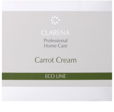 Clarena Eco Line Carrot regenerační pleťový krém s betakarotenem 2
