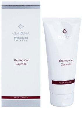 Clarena Body Slim Line Cayenne termo gél so zoštíhľujúcim účinkom 1
