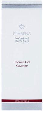 Clarena Body Slim Line Cayenne termo gél so zoštíhľujúcim účinkom 2