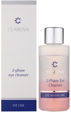 Clarena Eye Line двофазний засіб для зняття макіяжу з очей для чутливої шкіри 1