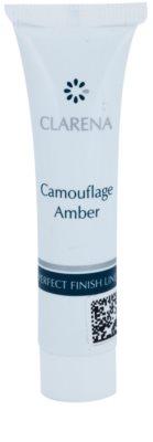 Clarena Perfect Finish Line Camouflage тональний крем для проблемної шкіри маленька упаковка