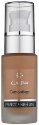 Clarena Perfect Finish Line Camouflage Make up für Haut mit kleinen Makeln Großpackung