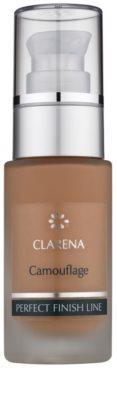 Clarena Perfect Finish Line Camouflage tekoči puder za kožo z nepravilnostmi velik paket