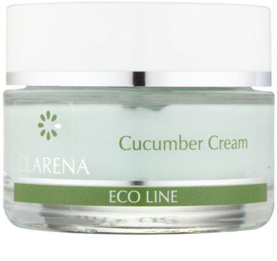 Clarena Eco Line Cucumber krem oczyszczający do twarzy