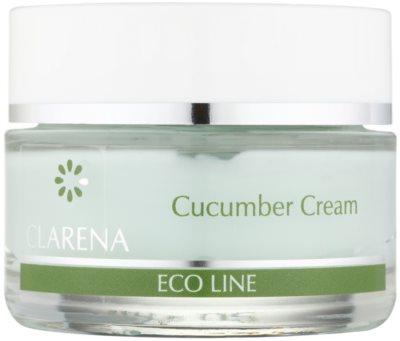 Clarena Eco Line Cucumber почистващ крем  за лице