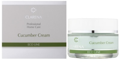 Clarena Eco Line Cucumber krem oczyszczający do twarzy 1