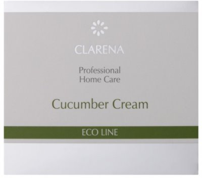 Clarena Eco Line Cucumber tisztító krém az arcra 2