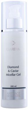 Clarena Diamond & Meteorite Line Żel micelarny z diamentem i kawiorem