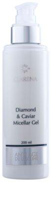 Clarena Diamond & Meteorite Line gel micelar  con efecto regenerador 1