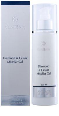 Clarena Diamond & Meteorite Line gel micelar  con efecto regenerador 2