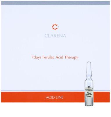 Clarena Acid Line Ferulac 7-Tage Antifaltenkur in Ampullen