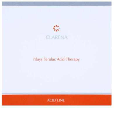 Clarena Acid Line Ferulac 7 denná protivrásková kúra v ampulkách 3