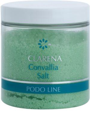 Clarena Podo Line Convallia soľ do kúpeľa na nohy