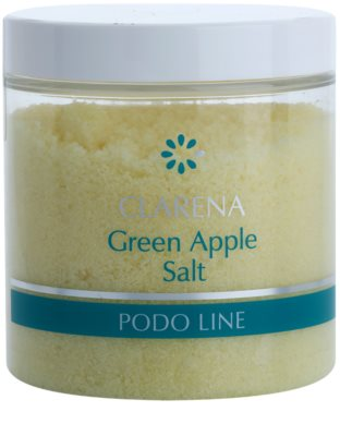 Clarena Podo Line Green Apple fürdősó lábakra