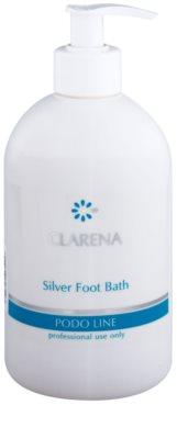 Clarena Podo Line Silver baño relajante con extractos herbales para aliviar los pies cansados