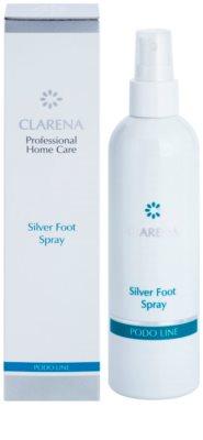Clarena Podo Line Silver erfrischendes Spray für die Fußsohlen mit Desodorierungs-Effekt 2