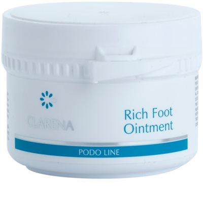 Clarena Podo Line nährende Salbe für trockene Haut mit Hang zu Rissbildung