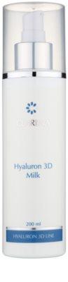 Clarena Hyaluron 3D Line hydratisierende Milch zum entfernen von Make-up für trockene Haut
