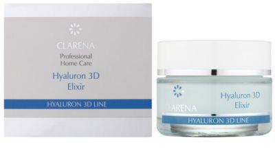 Clarena Hyaluron 3D Line hydratisierendes Fluid mit Hyaluronsäure 1
