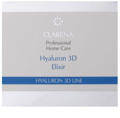Clarena Hyaluron 3D Line hydratisierendes Fluid mit Hyaluronsäure 2