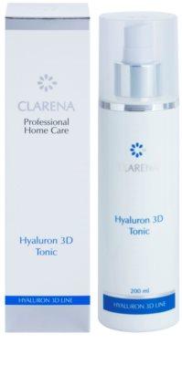 Clarena Hyaluron 3D Line хидратиращ тоник с хиалуронова киселина 2
