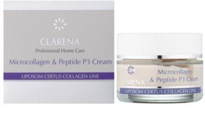 Clarena Liposom Certus Collagen Line bőrfeszesítő liposzómás krém a bőröregedés első jeleinek eltüntetésére 1