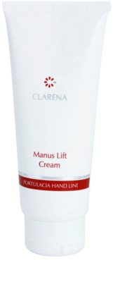 Clarena Portulacia Hand Line Manus Lift crema hidratante para manos con efecto lifting