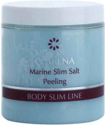 Clarena Body Slim Line Marine Testradír sókristályokkal és shea vajjal méregtelenítő hatással
