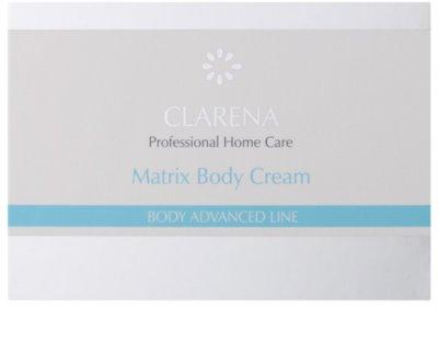 Clarena Body Advanced Line Matrix подмладяващ крем за тяло за зряла кожа 2
