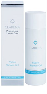 Clarena Body Advanced Line Matrix gel de dus pentru reintinerire pentru tenul matur 1