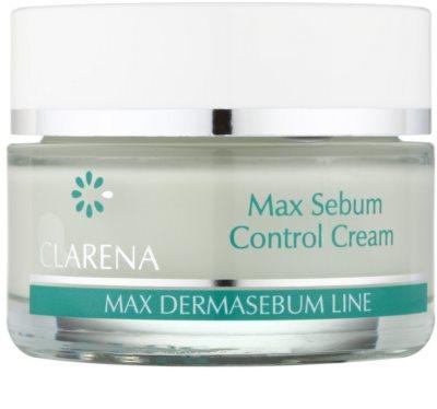 Clarena Max Dermasebum Line Max нормалізуючий крем для жирної шкіри